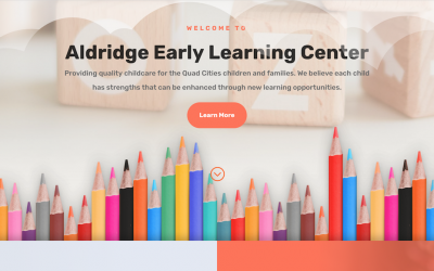 Aldridge Early Learning Center New Website